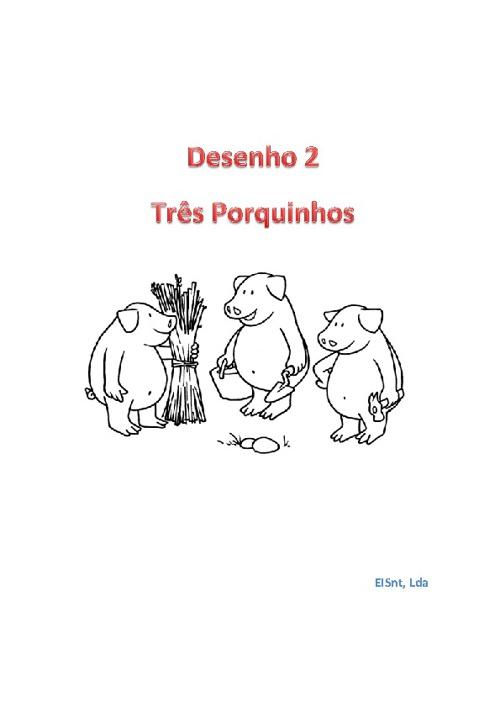 Para Pintar Os 3 Porquinhos By Modulares2010 Flipsnack