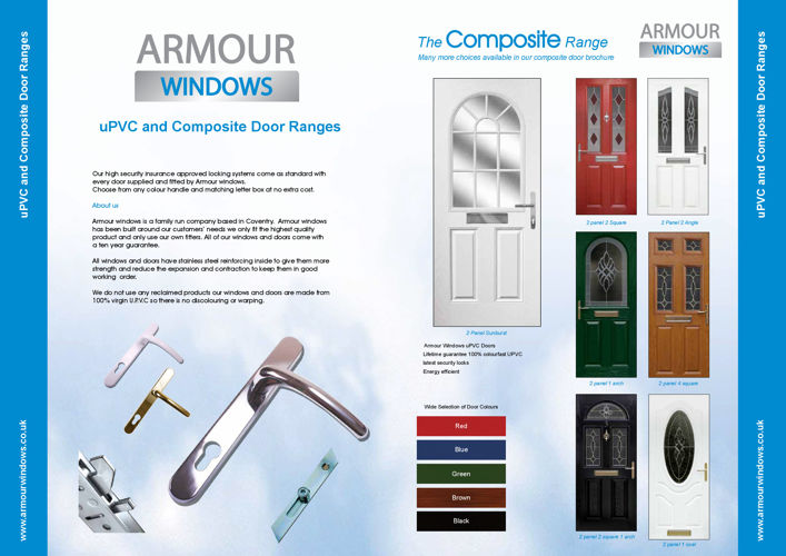 brochures armour windows coventry