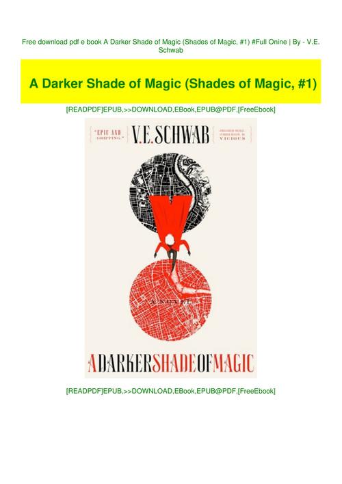 a darker shade of magic epub free download