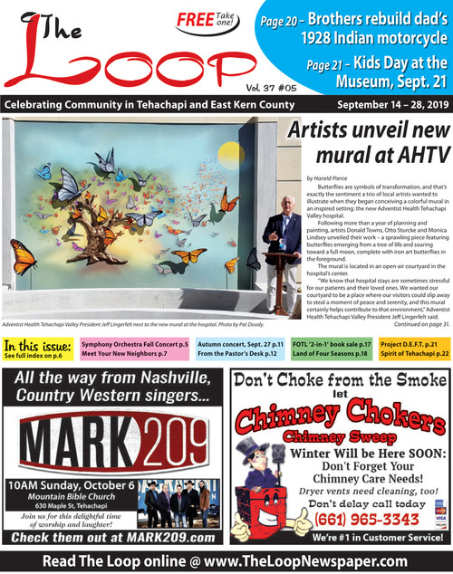 The Loop Newspaper Vol 37 No 05 Sept 14 To 28 2019