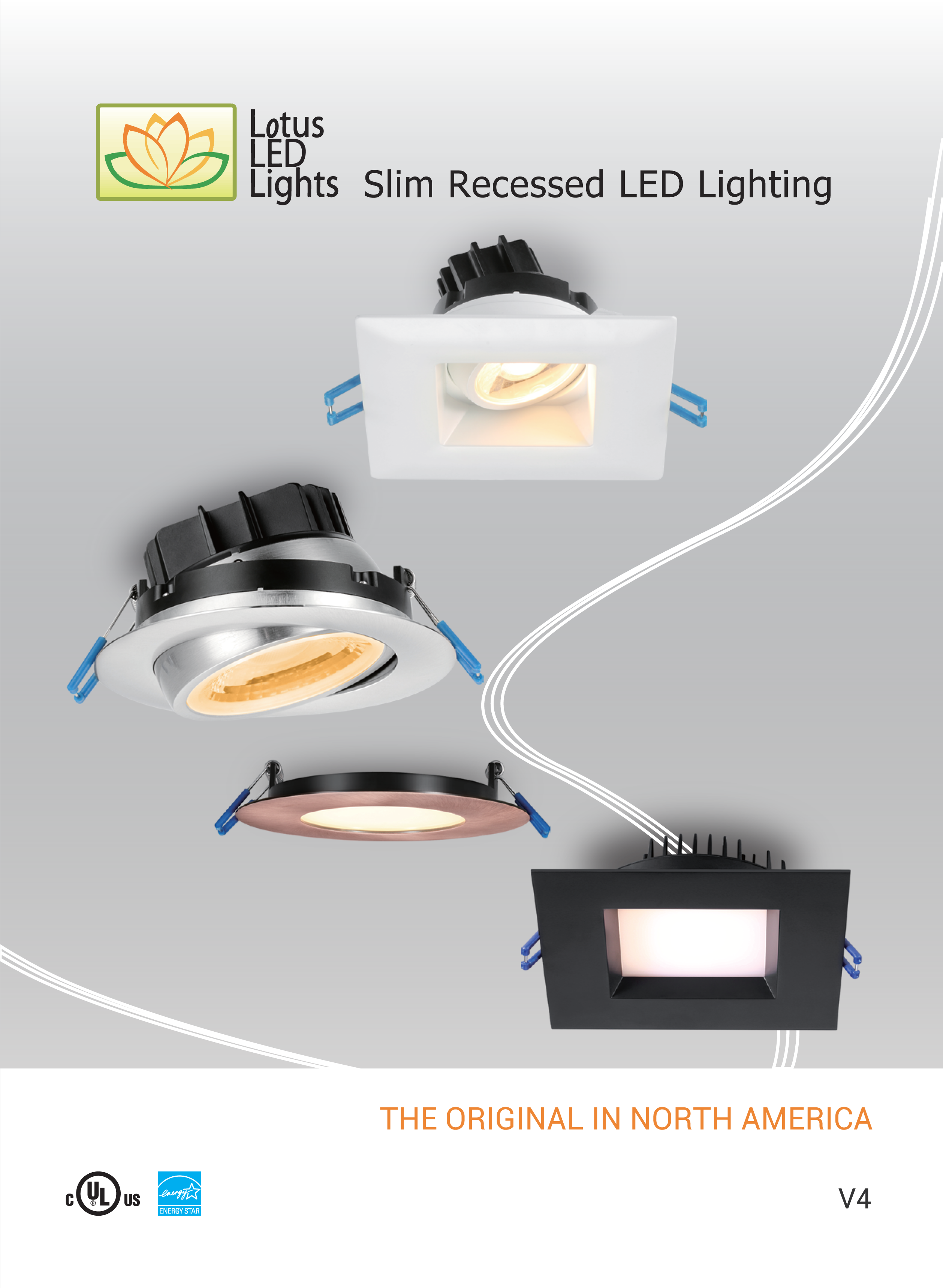 Super Thin Recessed Led Lighting Lotus Led Lights Products