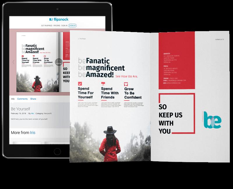 Free Online Brochure Maker  Design a Brochure - Flipsnack