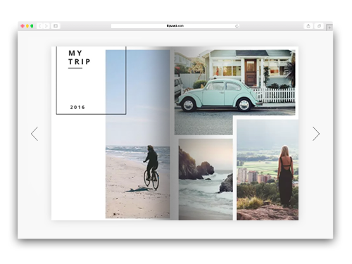 Free Online Photo Album Maker  Design a Photo Album - Flipsnack
