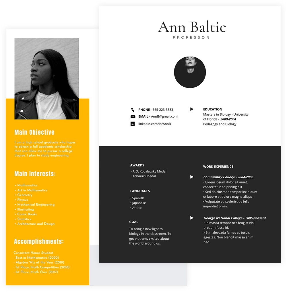 Cheap resume editor site for college resume profile for career changer