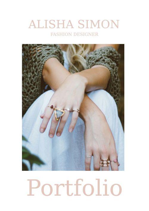jewellery portfolio template
