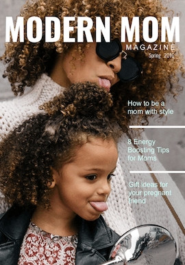 Mom Magazine Template