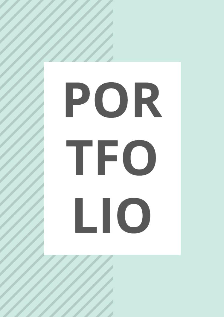 simple portfolio template