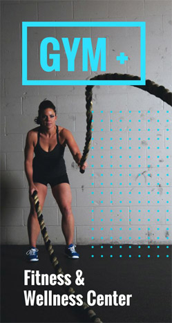 Sports brochure template