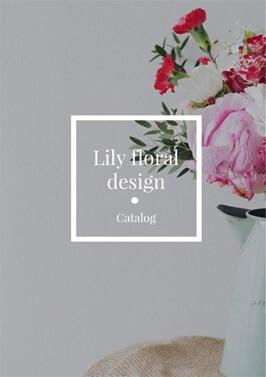 Floral design catalog