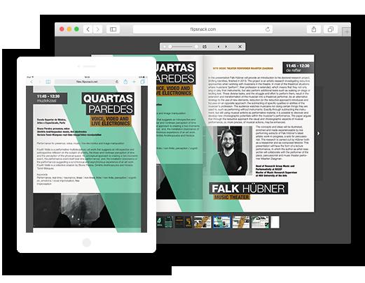 PDF to HTML5 flipbook