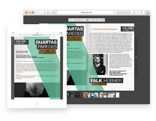 Pagina sfogliabile da PDF a HTML5
