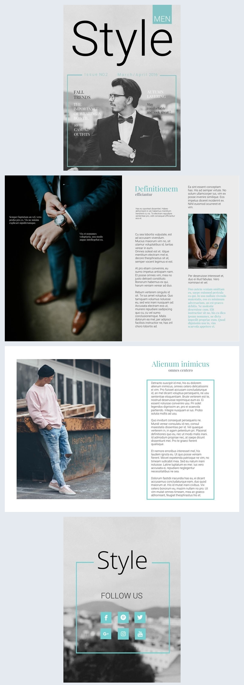 Fashion Portfolio Example