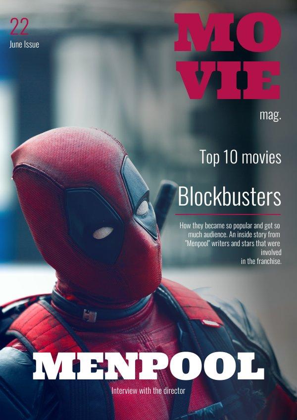 Movie Magazine Design