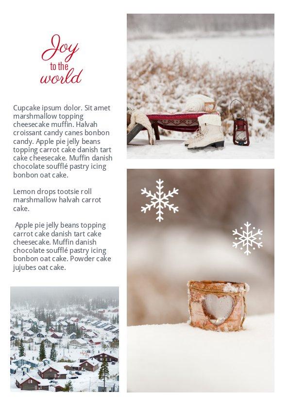 Exemple de magazine d'hiver