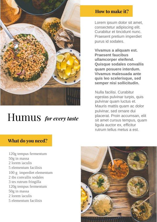 Plantilla y dise o para libro de cocina moderna flipsnack for Plantillas de cocina