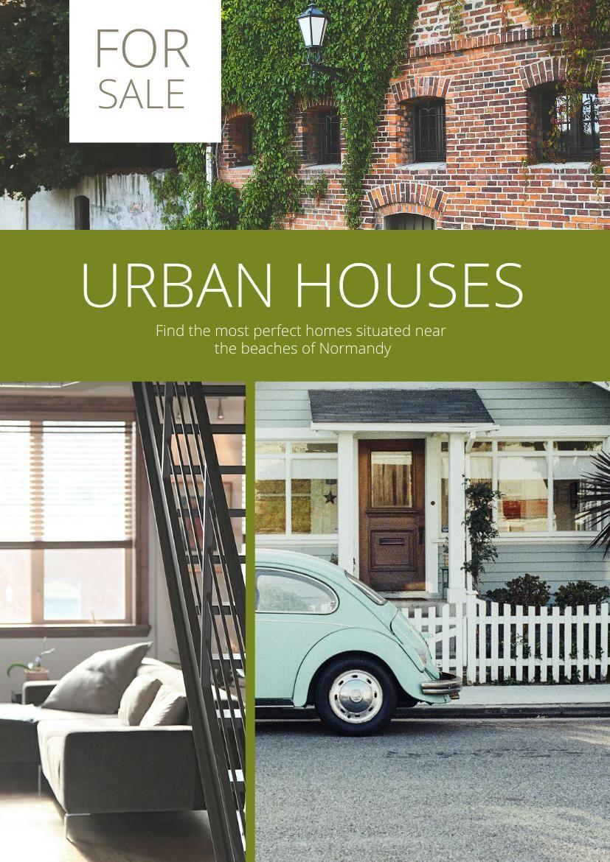 real estate flyer template  u0026 design