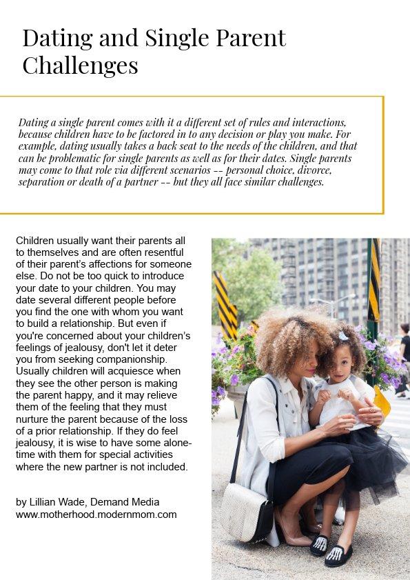 Parenting Magazine Example