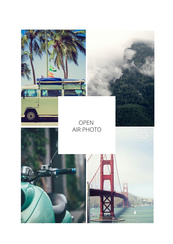 Album fotografico di viaggio