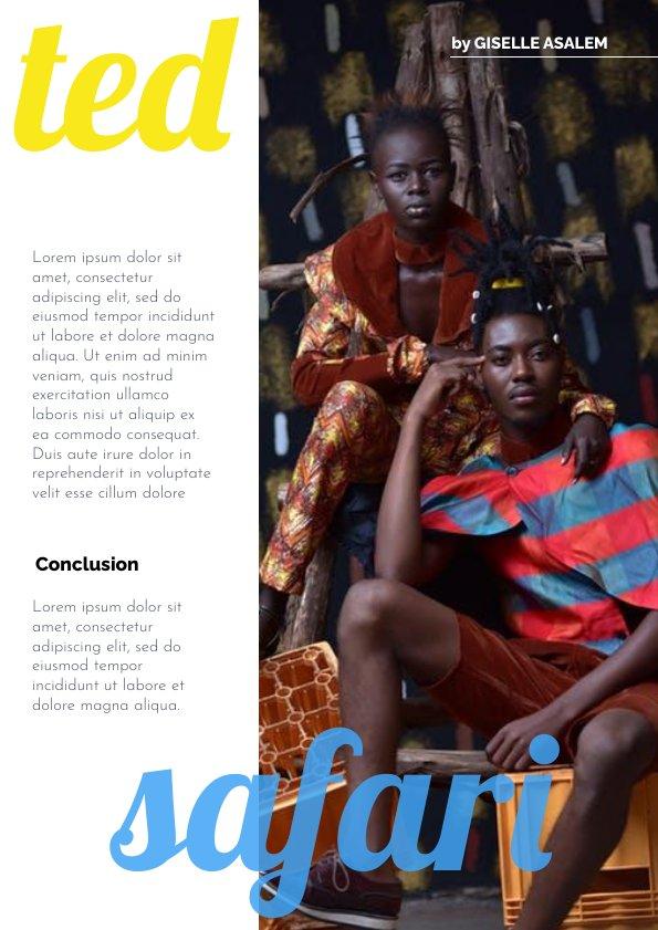 Fabulous Fashion Magazine Design