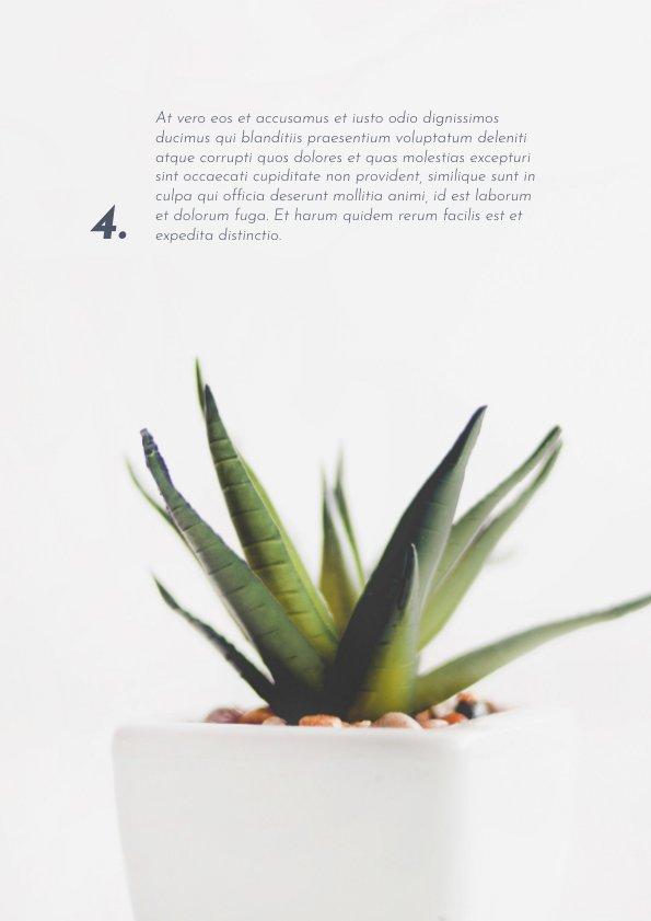Fancy Gardening Magazine Template & Design - Flipsnack
