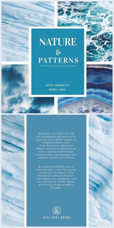 Diseño impactante para portada de libro en blanco y azul