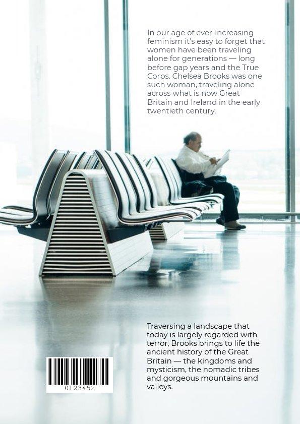 Buchcover-Vorlage für das alleinige Reisen & Ideen - Flipsnack