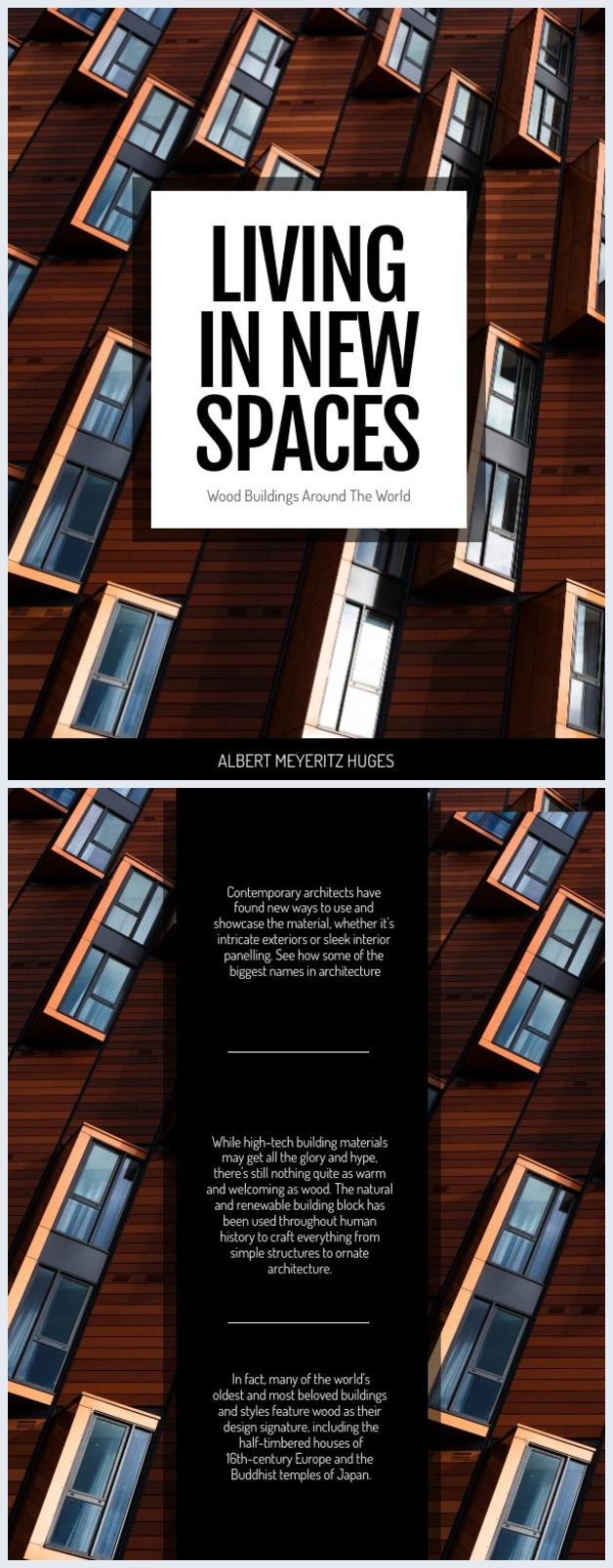 Houten architectuur boeken omslag