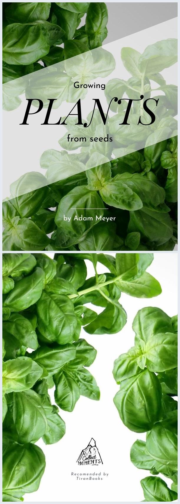 Portada de libro de cultivo de plantas