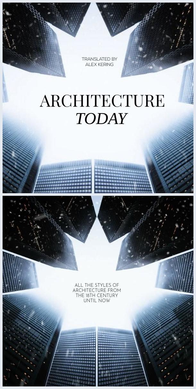Design moderno per copertina di libro d'architettura