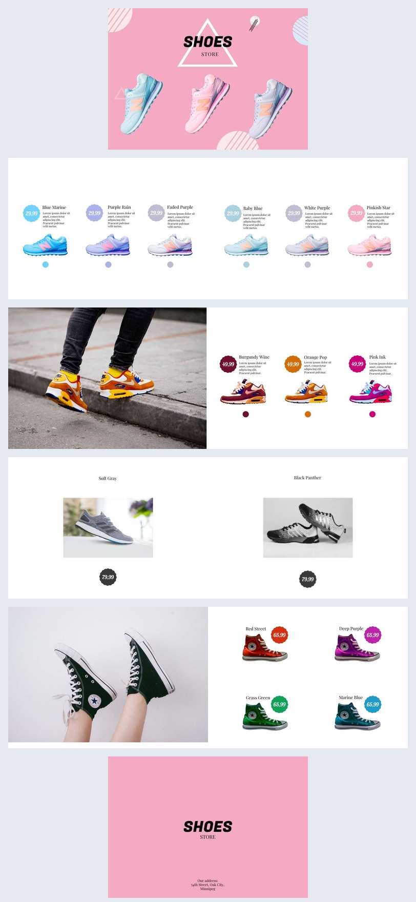 Women Shoes Catalog Example