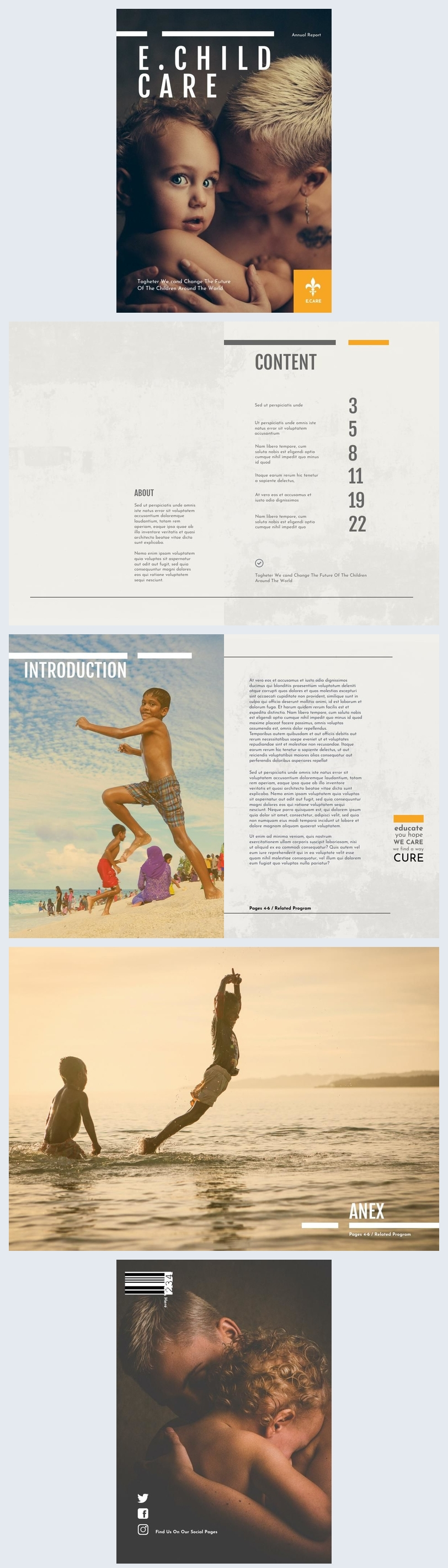 Humanitarian Foundation Annual Report Example