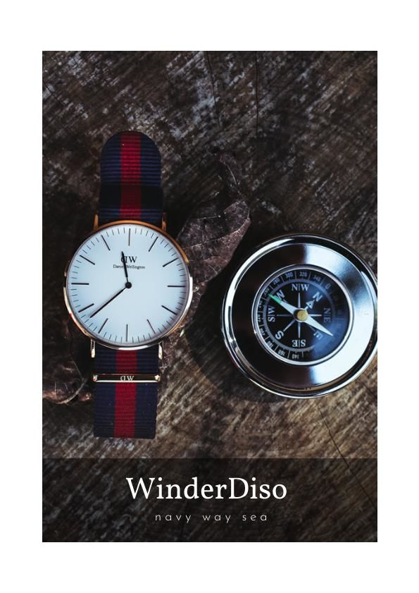 Watch Store Catalog / Brochure Design
