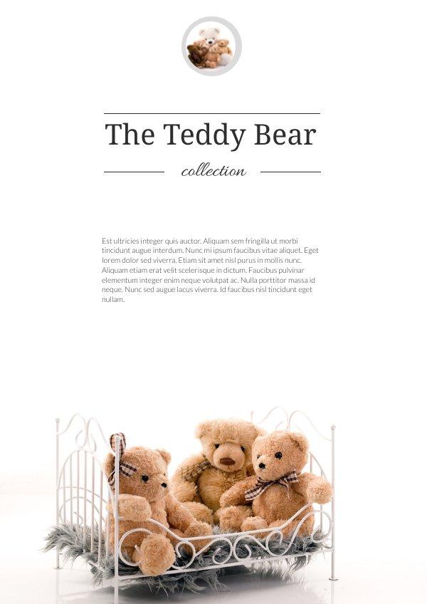 Colorful Toys Catalog / Brochure Design