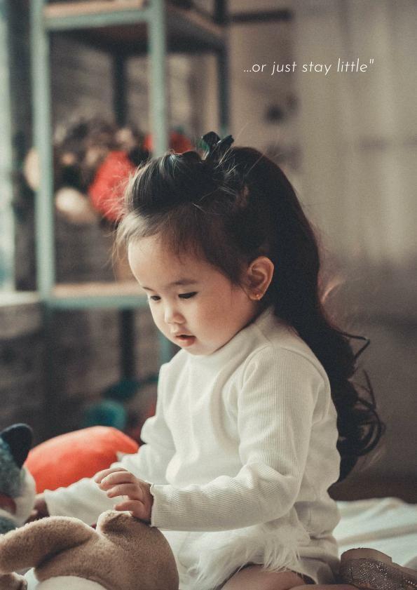 Adorable Baby Photo Album Design