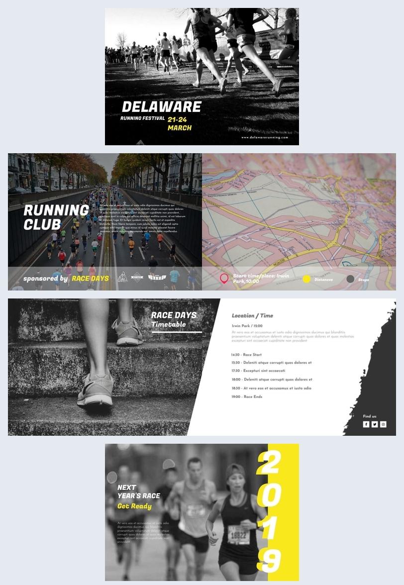 Ejemplo para folleto de maratón