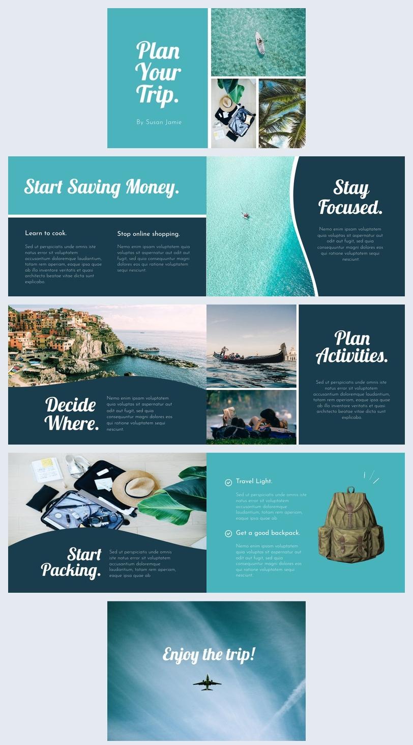 Modern Travel Guide Design