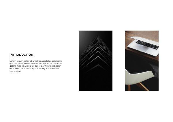 d9cfaaa01eabf Plantilla y diseño modernos para folleto de negocios - Flipsnack