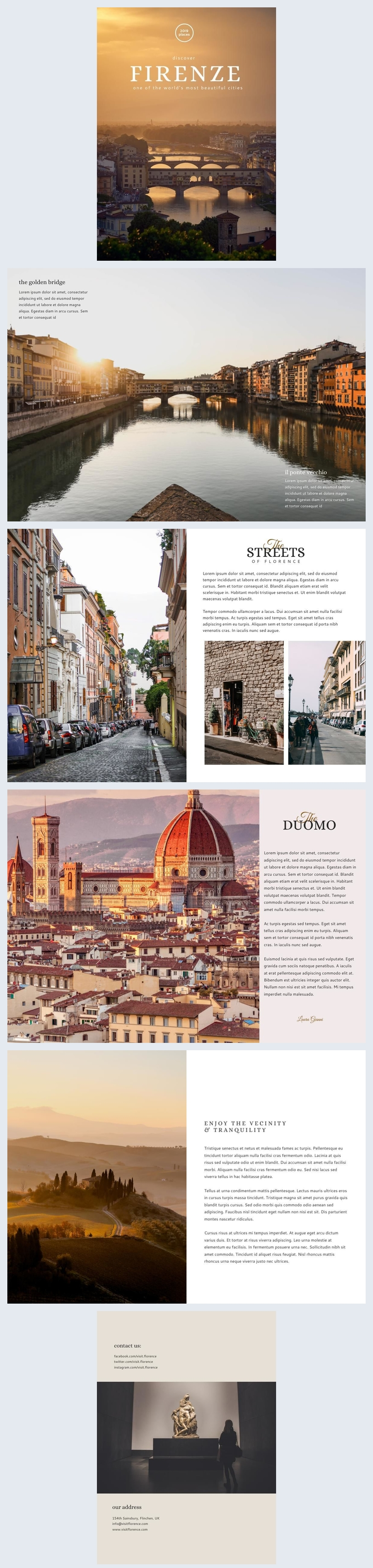 Stunning Travel & Tourism Brochure Template