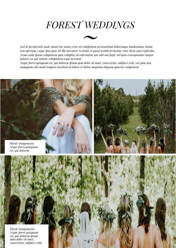 Stunning Wedding Magazine Template