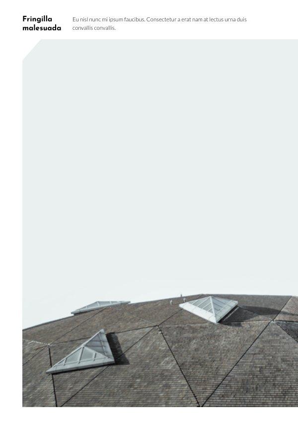 modern architecture portfolio template  u0026 design