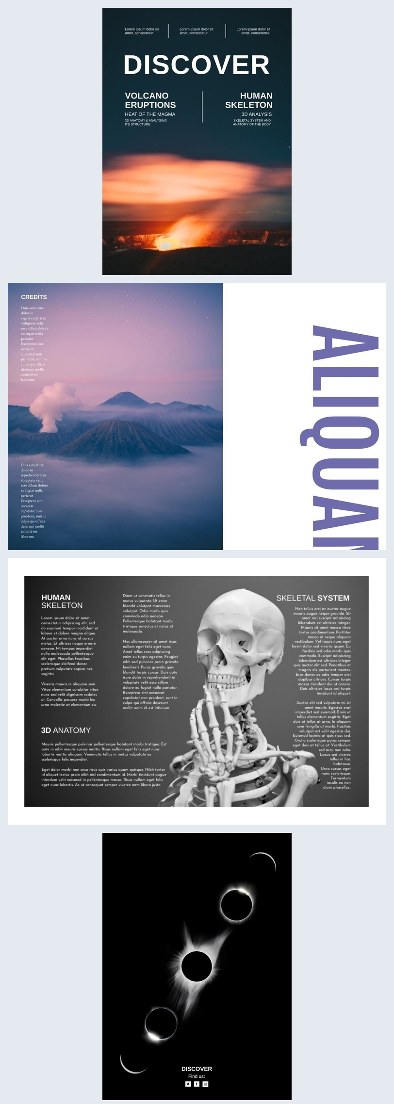 Science Magazine Template Example