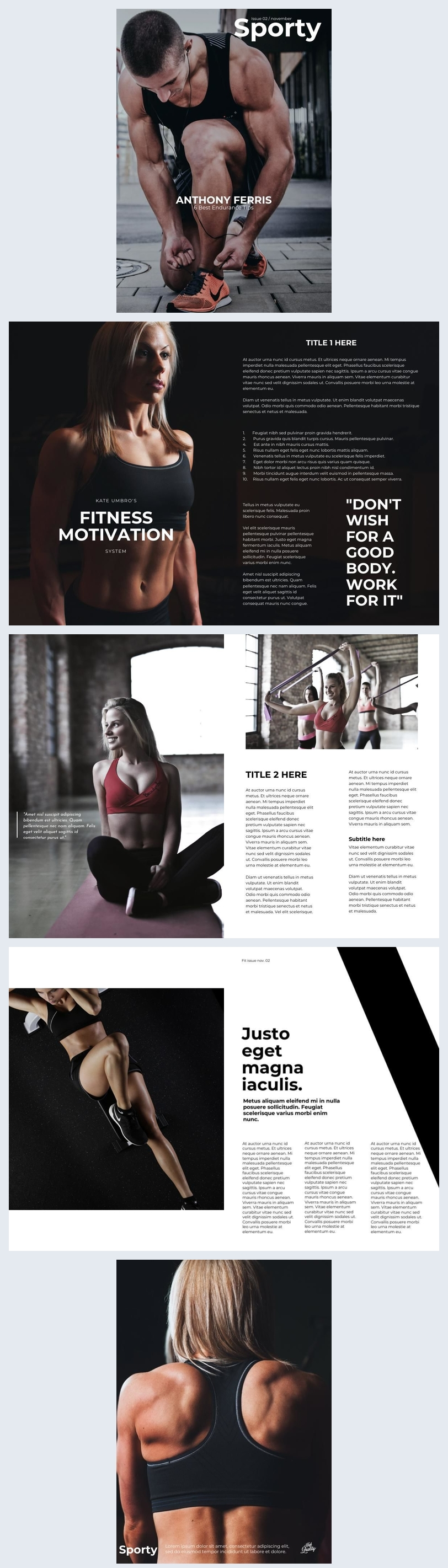 Exemplo de Modelo de Revista Esportiva