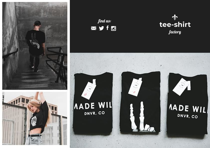 clothing store tri fold brochure template design flipsnack