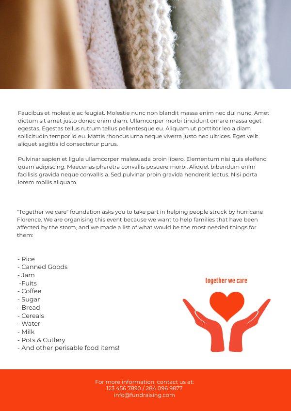 Free Fundraiser Event Flyer Template & Design