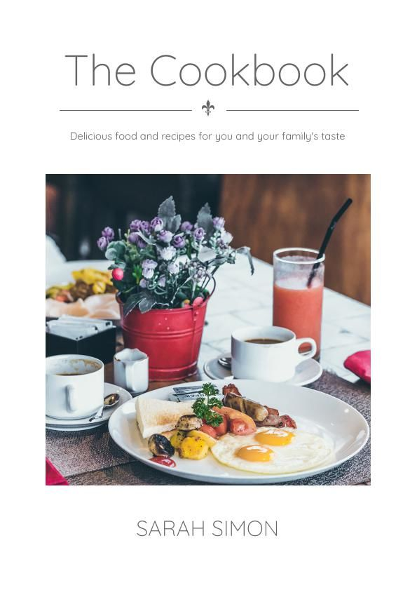 free family cookbook template flipsnack