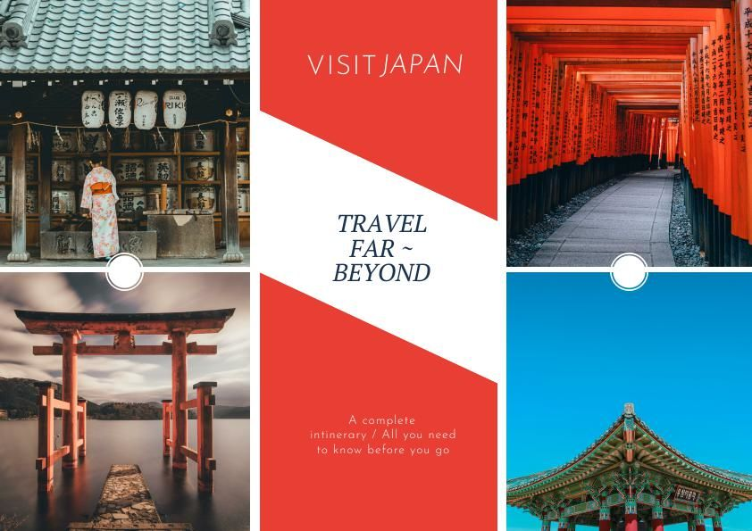 Tourism Trifold Brochure Template & Design