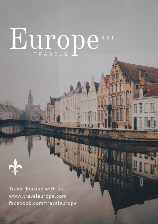 Beautiful City Travel Flyer Template & Design
