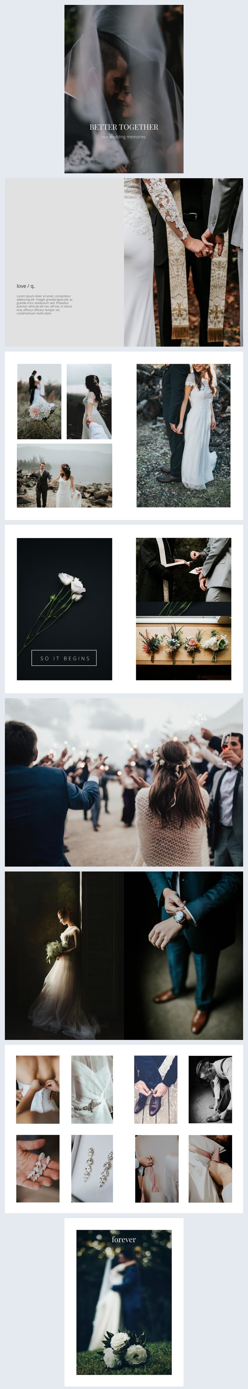 Stunning Wedding Album