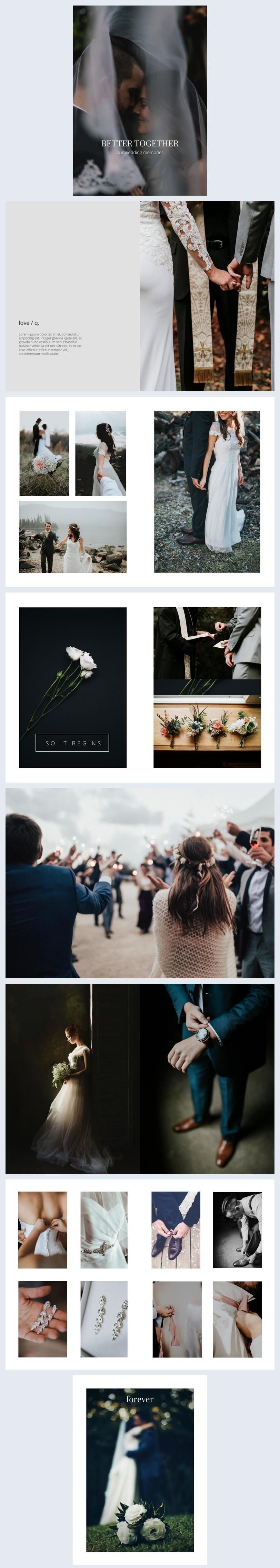Álbum de Casamento Deslumbrante