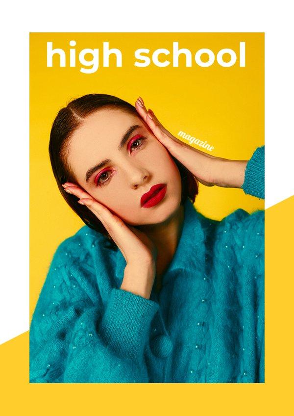 Modern Teen Magazine Template